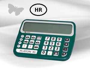 Slika kalkulatora Platon XL s govorom