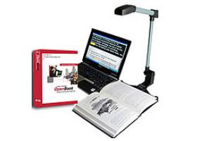 Slika kamere PERL i logo programa OpenBook