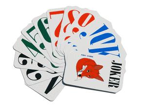 Slika špila FOXY igraćih karata (52 karte + 2 jockera)