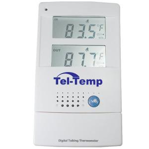 Slika unutarnjeg vanjskog govornog termometra