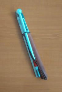 Slika Orijentacijski štap aluminijski kombinirani s 4 sekcije (sklopljen)