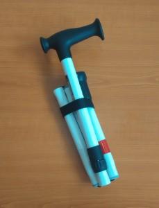 Slika podupirajućeg štapa (sklopljen)