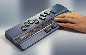 Slika brajične bilježnice HT Active Braille