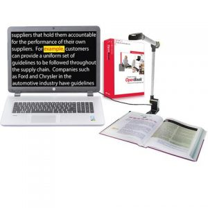Slika kamere PERL i prozor programa OpenBook