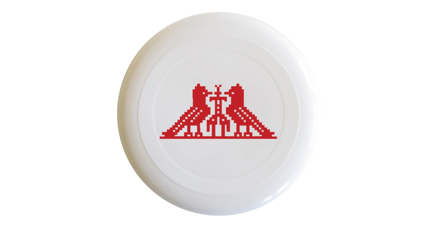 Slika frizbija sa motivom Međimurski ftičeki