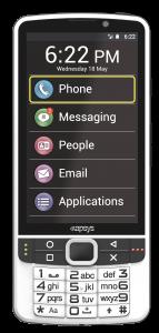 Mobitel SmartVision 2, prednja strana