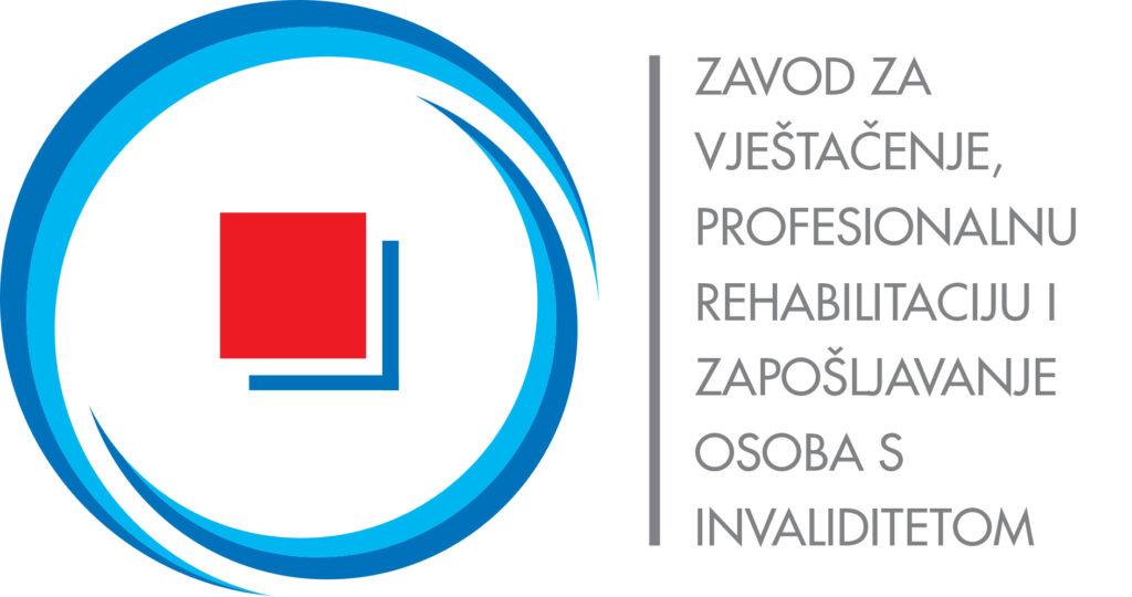 Logo Zavod za vještačenje, profesionalnu rehabilitaciju i zapošljavanje osoba s invaliditetom